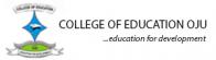 College of Education Oju
